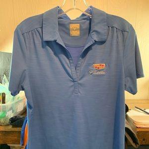 👚2 for $50👚Callaway Cadillac Ladies Golf Shirt